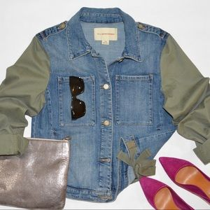Pilcro and the Letterpress Women's Denim Jacket